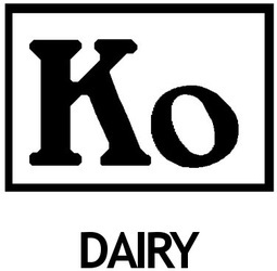 Ko in square, dairy designation